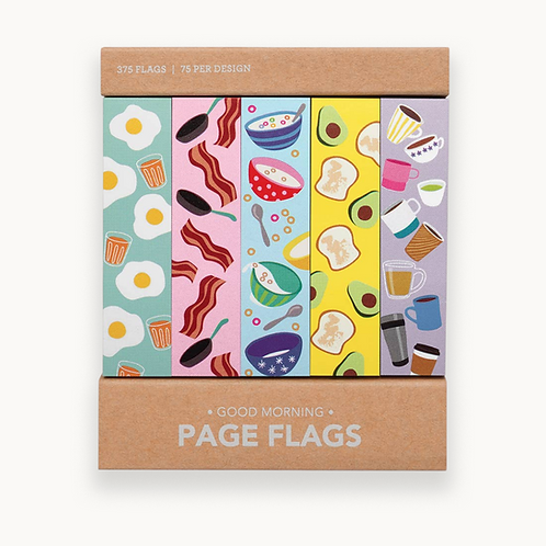 Good Morning Page Flags