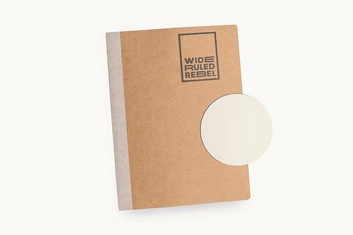 "Classic (8.5x11"") Blank Notebook"