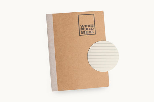 "Classic (8.5x11"") Wide Ruled Notebook"