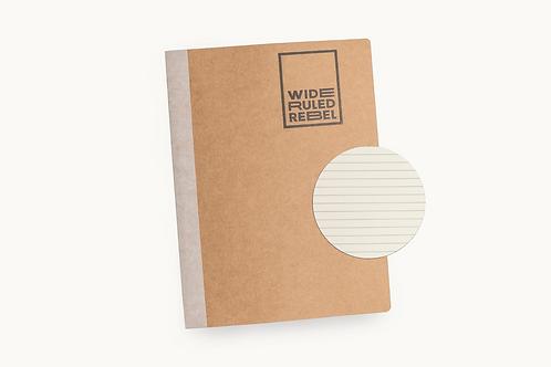 "Classic (8.5x11"") College Ruled Notebook"