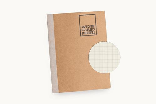 "Classic (8.5x11"") Grid Notebook"