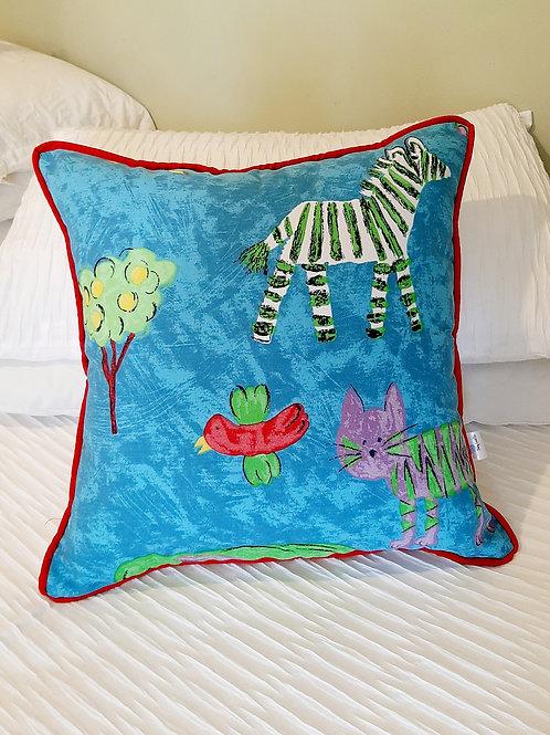 Cotton Jungle Cushions