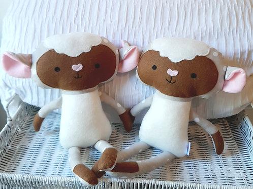 Brown Lovable Lambs