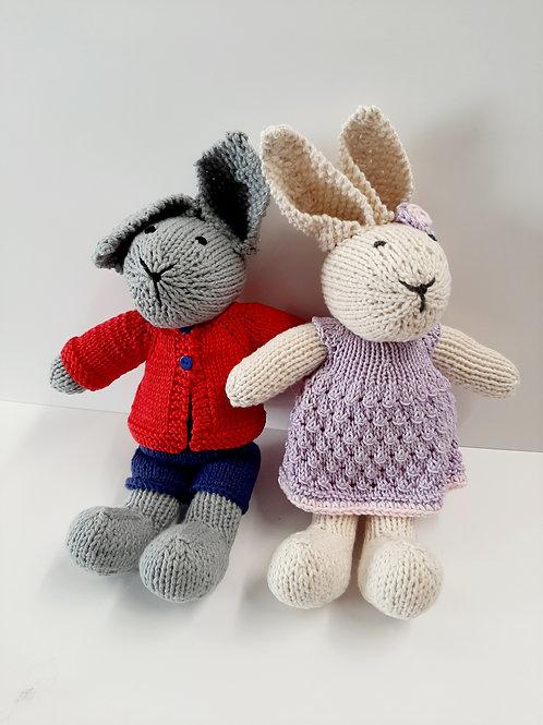 Handmade Cotton Bunnies