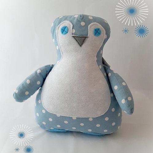 Blue Perky Penguin