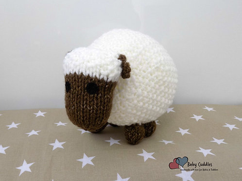 Cuddles Baby Aran Sheep