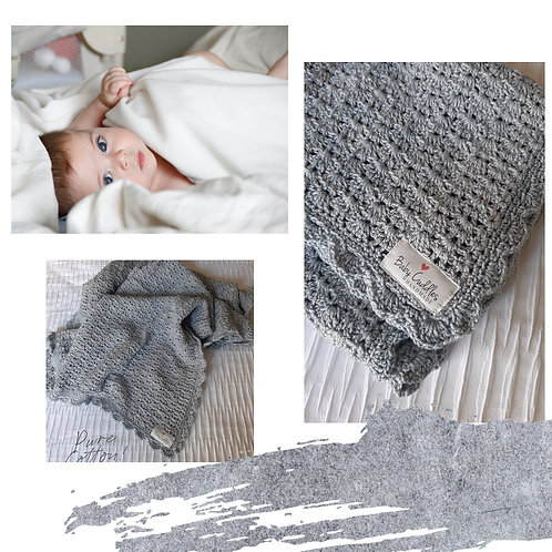 Pure Cotton Baby Blanket