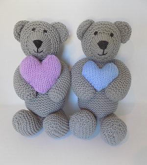 Grey Touch My Heart Bears