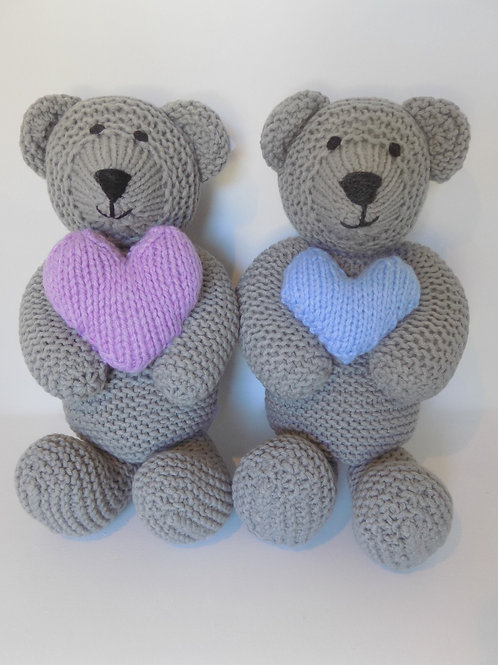Grey Touch My Heart Bears