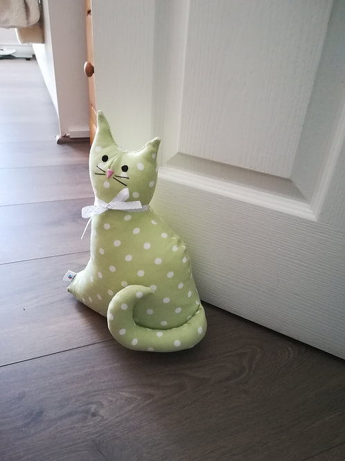 Cotton Cat Doorstop