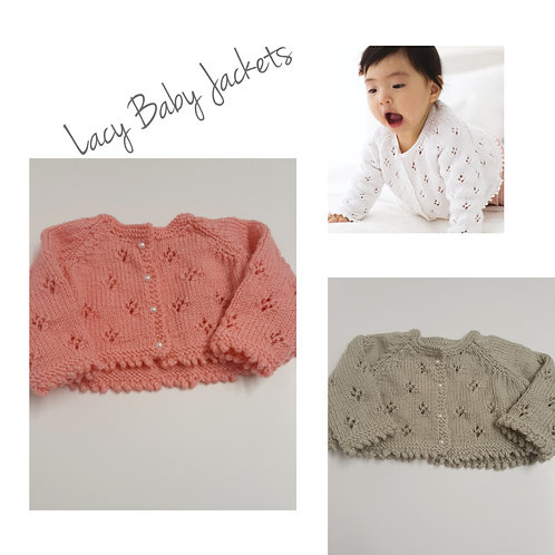 Lacy Baby Jackets