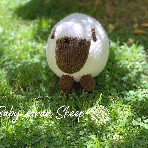 Cuddles Baby Aran Sheep