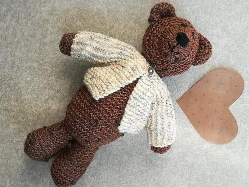 Chocolate Button Bear