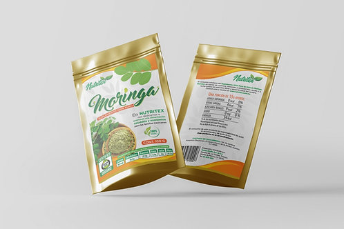 Suplemento 100% Puro de Moringa 100 gr - Polvo