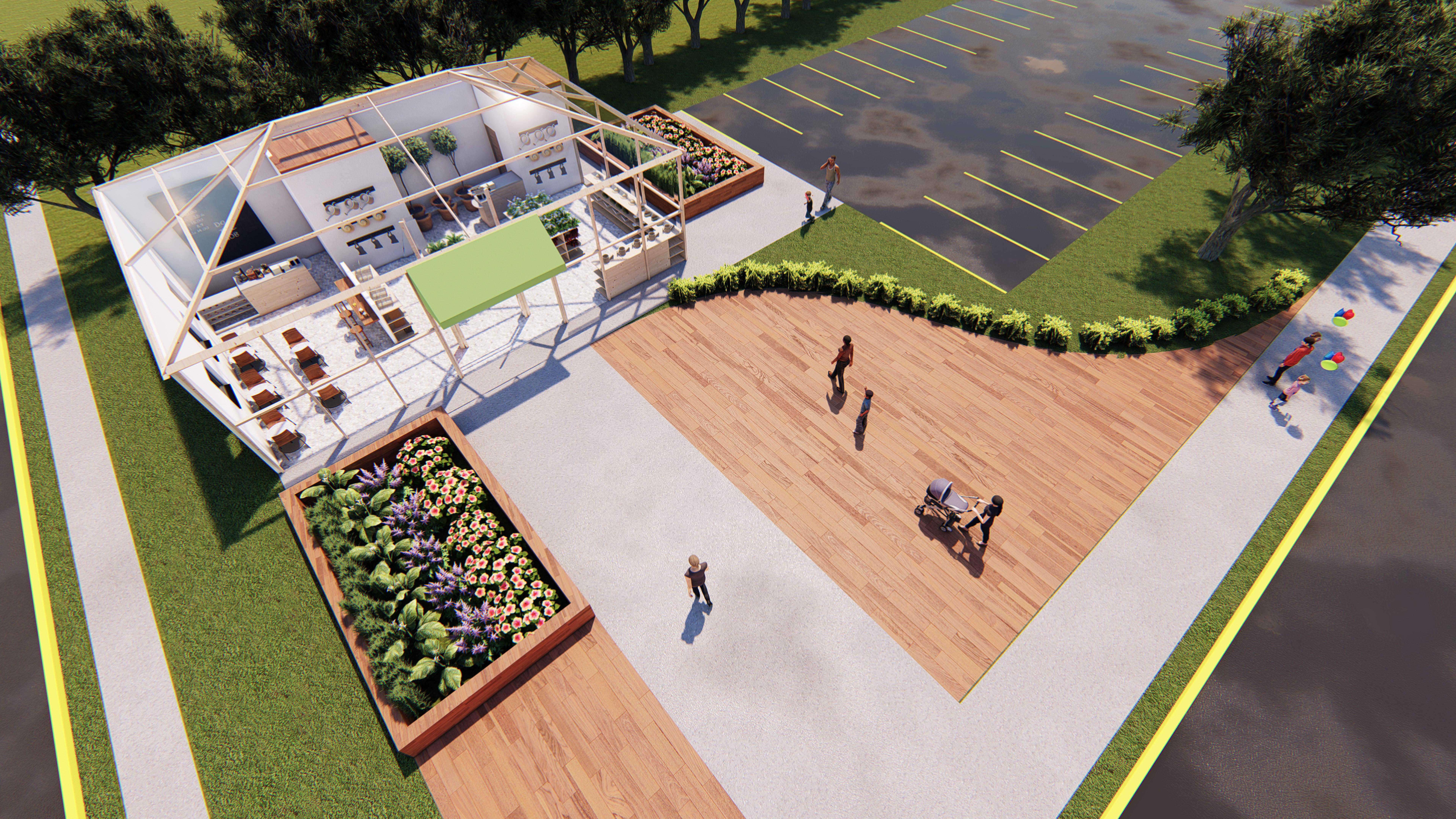 BV Gardens