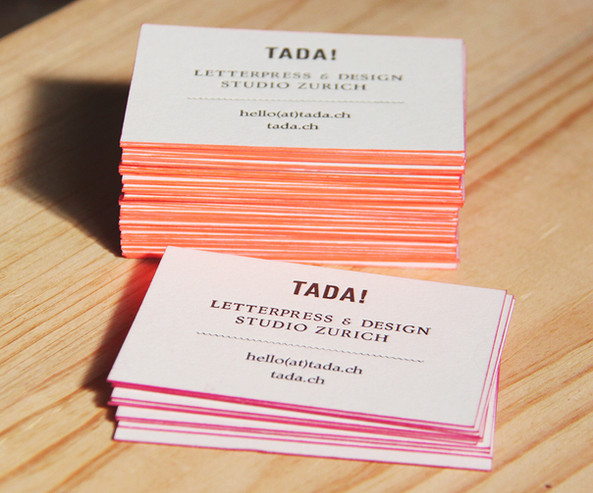 TADA! LETTERPRESSE & DESIGN STUDIO