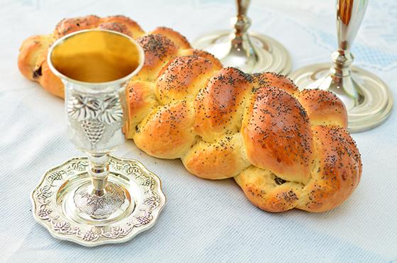 Friday evening Shabbat services