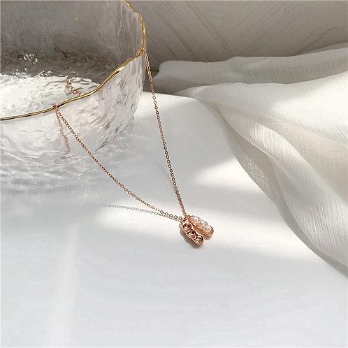 Peanut Pendant Necklace