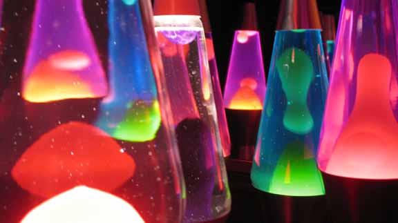 All the lava lamps!