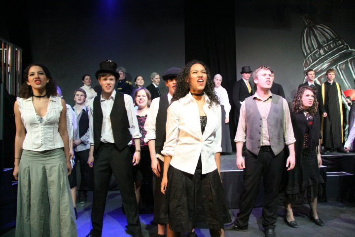 Production photography for Jekyll and Hyde: The Musical. SUSU Showstoppers, May 2010.