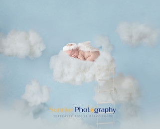 Cloud digital background