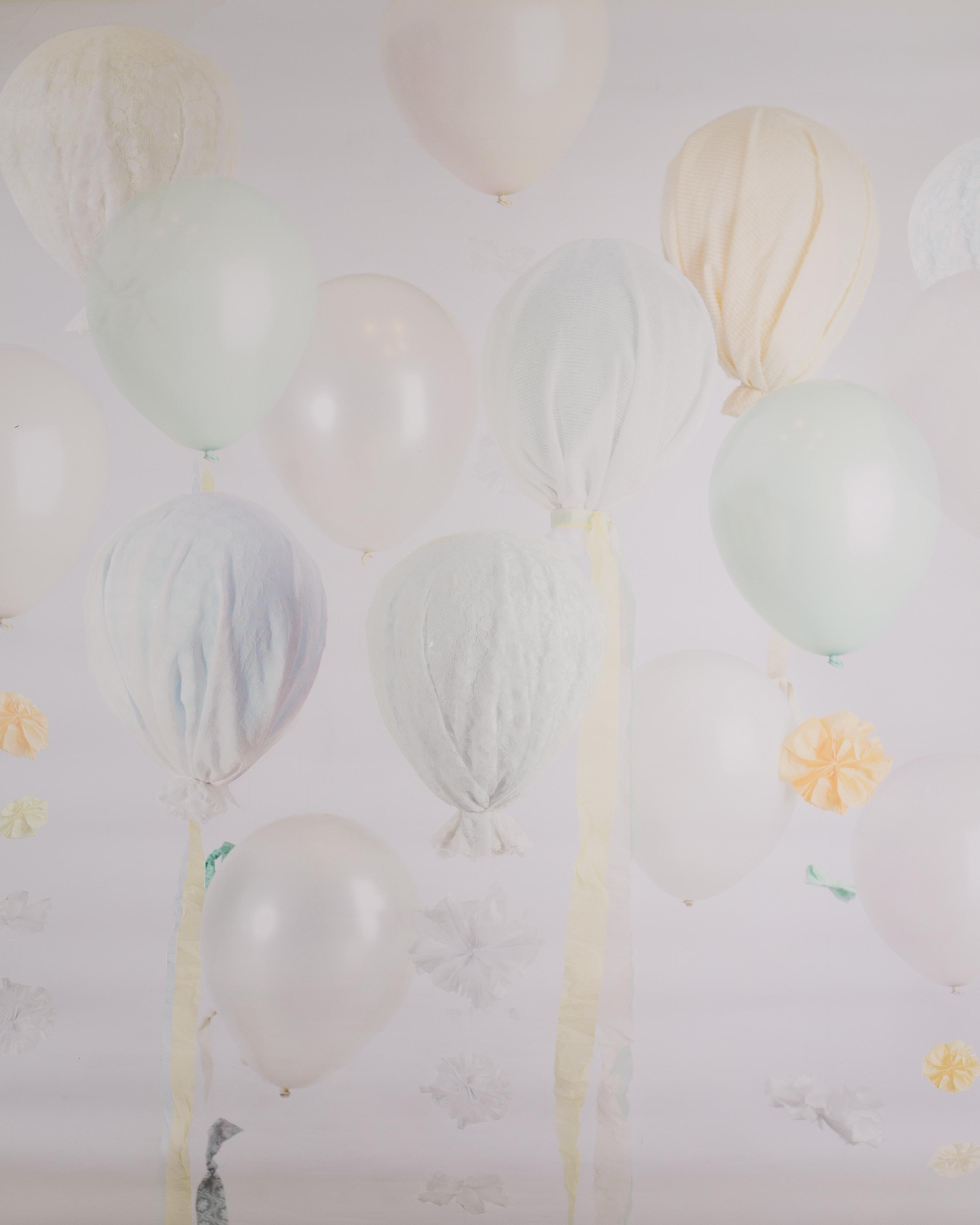 B-5 Pastel Hanging Balloons