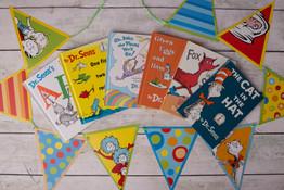Dr. Suess books/banner
