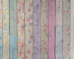 S-1 Patterned Floral Planks