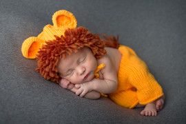Lion outfit newborn- small 9mo