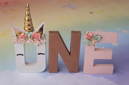 unicorn ONE letters