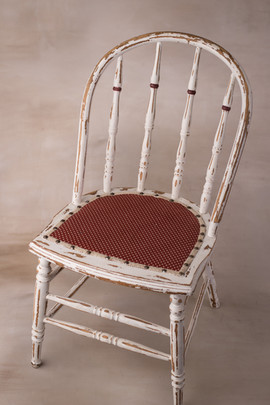 Large rustic chair