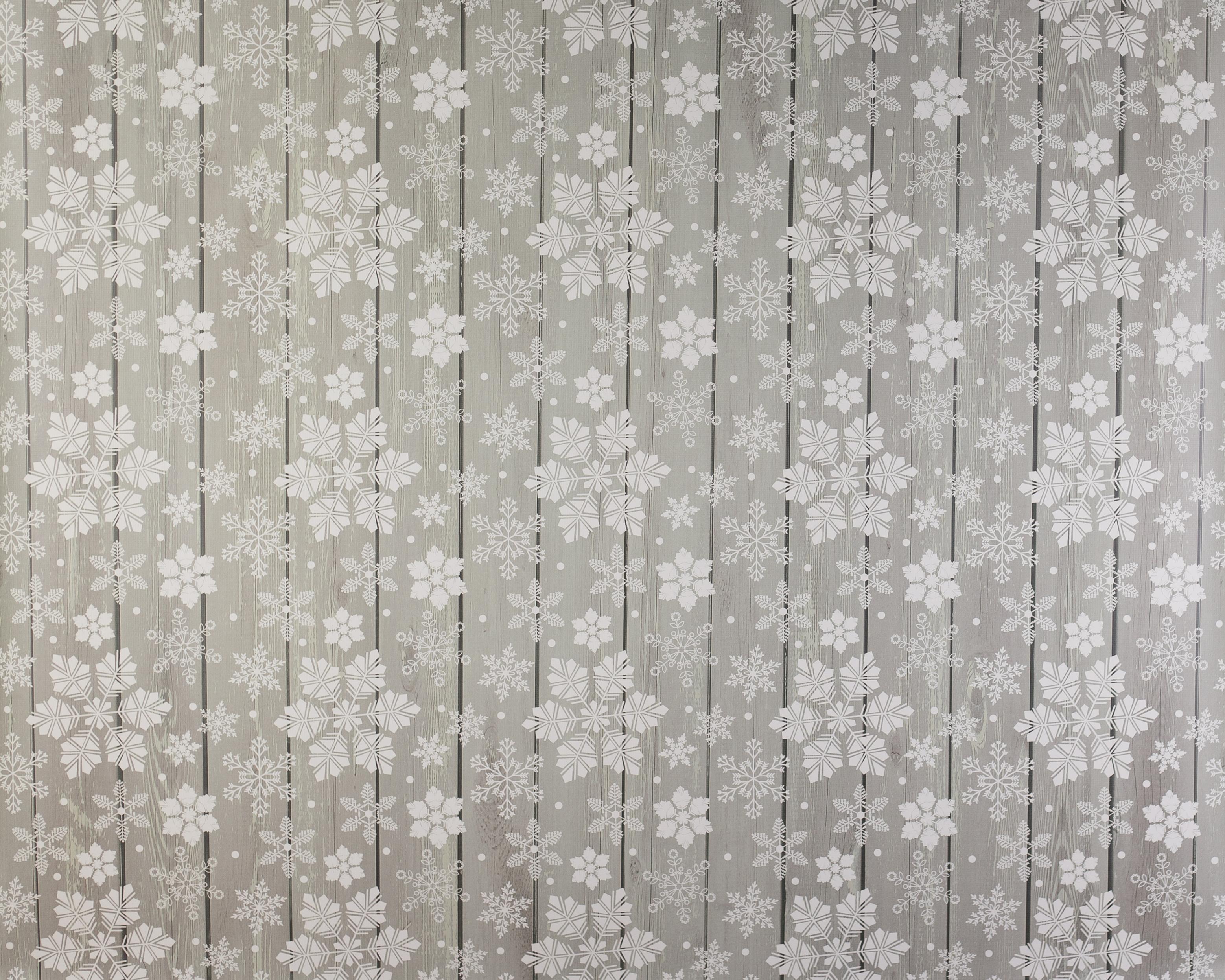 W-8 Snowflake Barnwood
