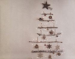W-3 Rustic Stick Christmas Tree