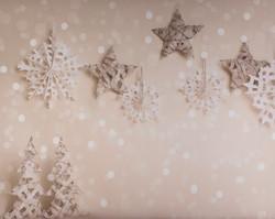 W-12 Snowflake Stars Bokeh