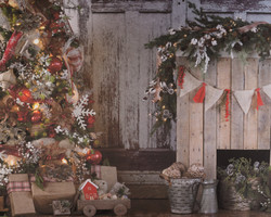 W-11 Rustic Traditional Christmas