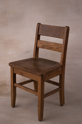 Medium wooden chair
