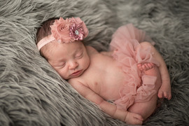 Newborn Tutu with matching bow
