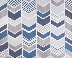M-2 Navy Grey Chevron