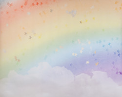 F-15 Rainbow Clouds & Stars