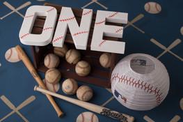 ONE baseball letters