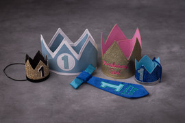 assorted 1 year crowns