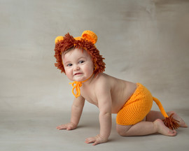Lion outfit newborn-small 9 mo