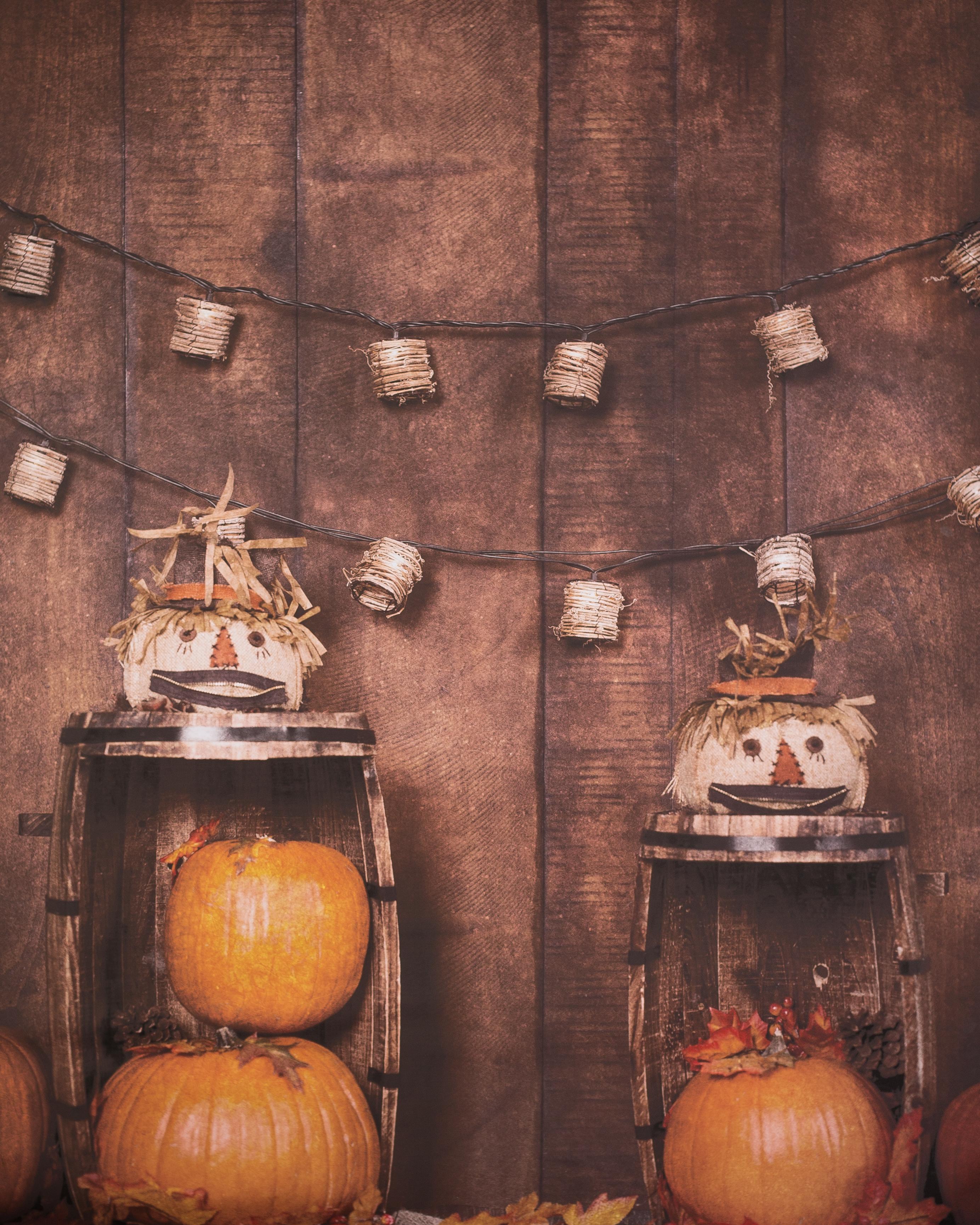 A-5 Scarecrow Pumpkins