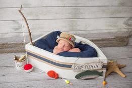 Newborn Fishing hat