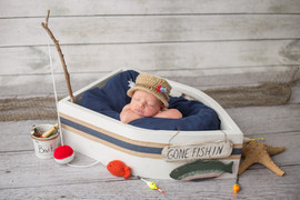 Newborn Fishing hat