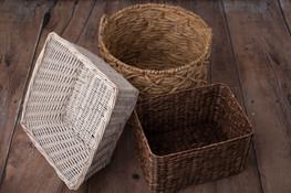 Assorted baskets