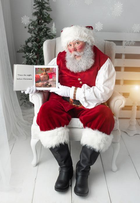 Santa book page