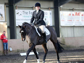 Glushu are delighted to announce the sponsorship of Durham dressage rider Katie Roberts.