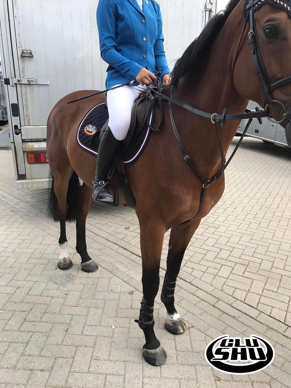Glushu sponsors Nina Van Enckevoort