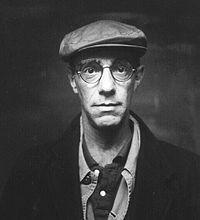 Portrait of director Derek Jarman